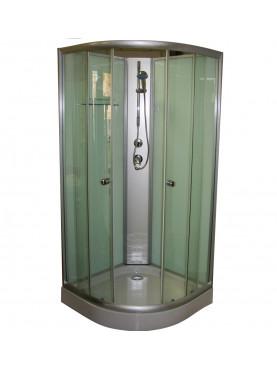 Aqualife Opal 508 C Fehér zuhanykabin 80x80x205 cm Tető nélkül