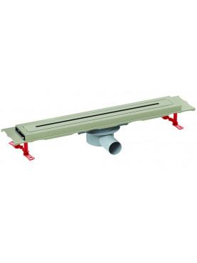 Valtemo Prestige Line padlóösszefolyó (Fém alaptesttel) 80 cm VLD-570530